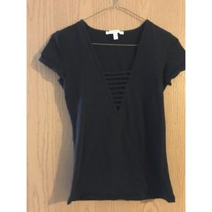 Express cage neck shirt 😛